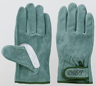 富士グローブ SW-32B S&Wオイル皮手袋 10双組 日本製牛皮使用 (Lサイズ)