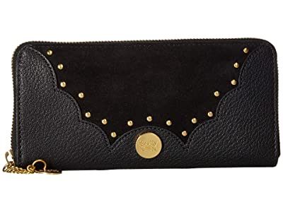 798a820676233 See by Chloe Nick Continental Wallet (Black) Wallet Handbags
