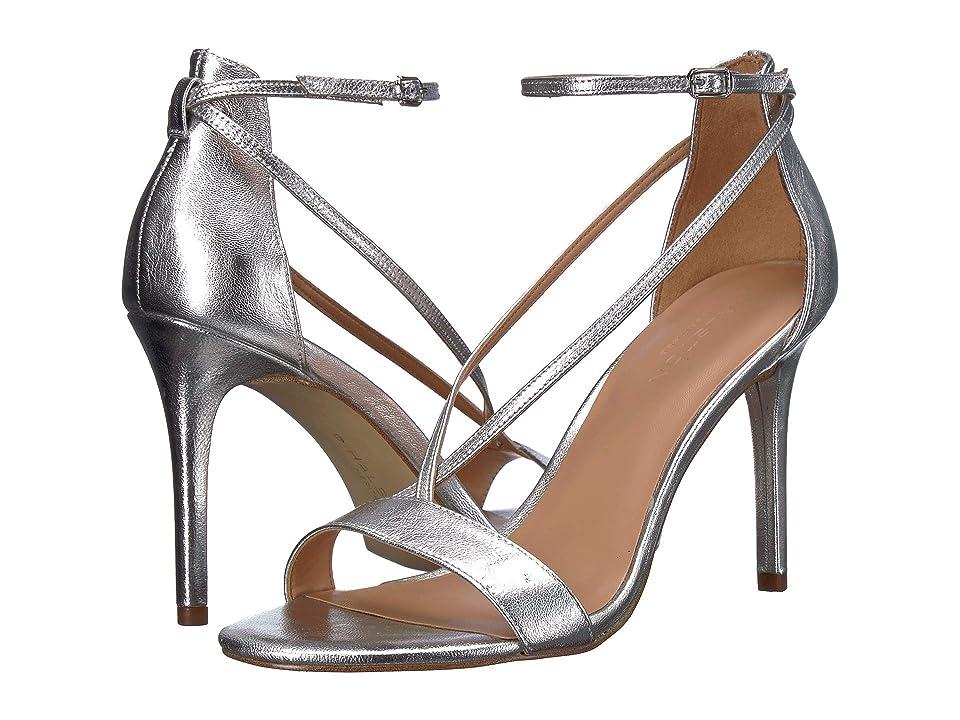 Halston Heritage Evie Heels (Silver Metallic) Women