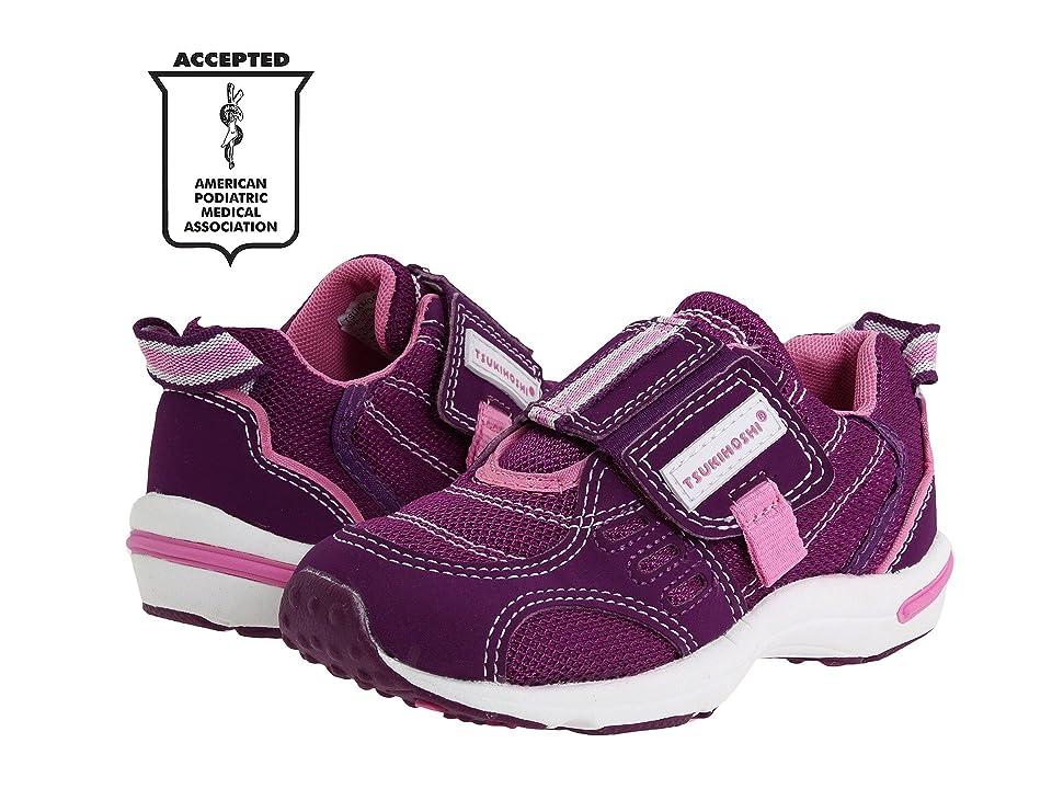 Tsukihoshi Kids Euro (Toddler/Little Kid) (Purple/Pink) Girls Shoes