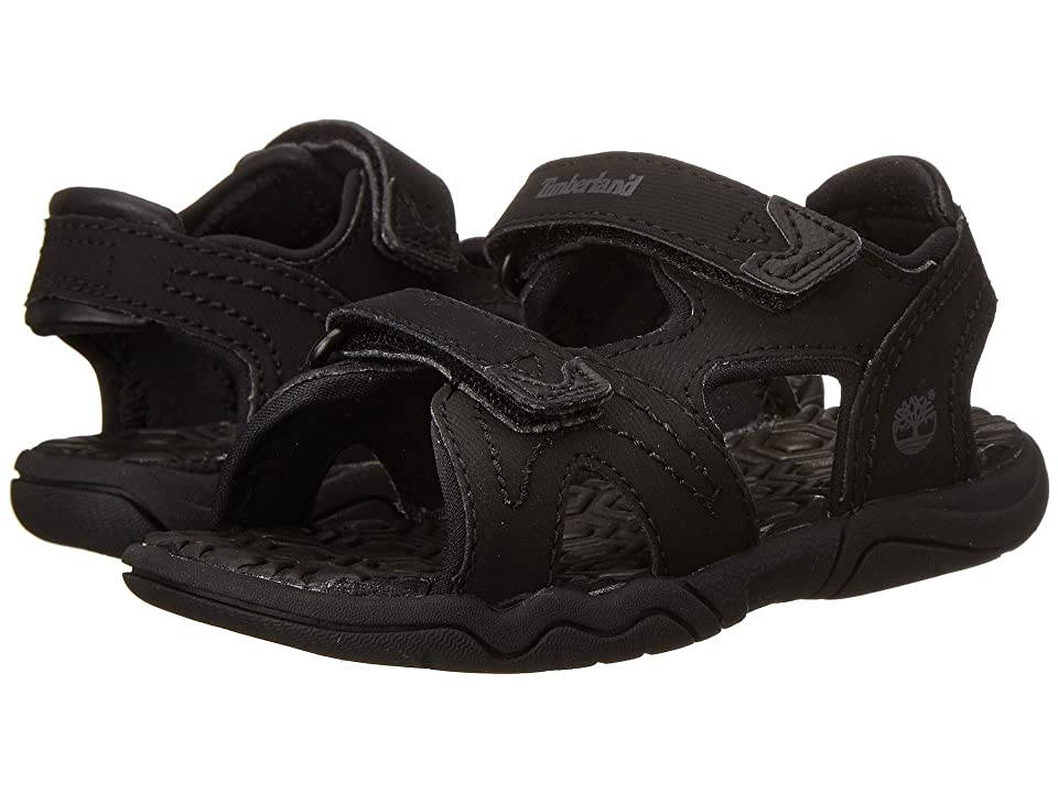 Timberland Kids Adventure Seeker 2 Strap Sandal (Toddler/Little Kid) (Blackout) Kids Shoes