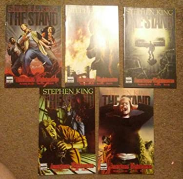 Stephen king The Stand AMERICAN NIGHTMARES Volumes 1 - 5