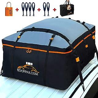 RoofPax Car Roof Bag & Rooftop Cargo Carrier. 19 Cubic Feet. 100% Waterproof..