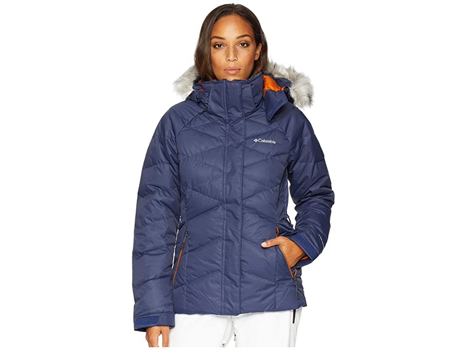 Columbia Lay D Downtm II Jacket (Nocturnal Dobby/Bright Copper) Women