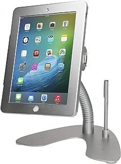 CTA Digital Dual Security Gooseneck Kiosk Stand & Anti-Theft Cable for iPad Air & iPad Pro 9.7 (PAD-DSGK)
