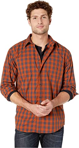 Gingerbreak/Dark Navy Plaid