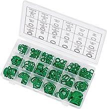 O-ring Assortiment 270 Stuks Afdichtringen groene Nitril O-ringen Sluitring Afdichtingen Geschikt voor Auto Mechanikers Lo...