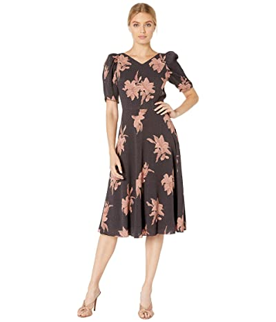 La Vie Rebecca Taylor Tiger Lily Crepe Dress (Dawn Combo) Women
