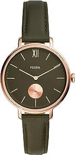 FOSSIL - Orologio da donna in pelle al quarzo ES4975