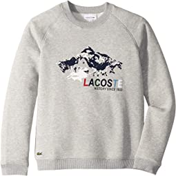 Mountain Print Sweatshirt (Toddler/Little Kids/Big Kids)