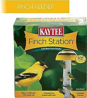 Kaytee Wild Bird Food Nyjer Seed Finch Sock Twin Pack Instant Feeder 26oz