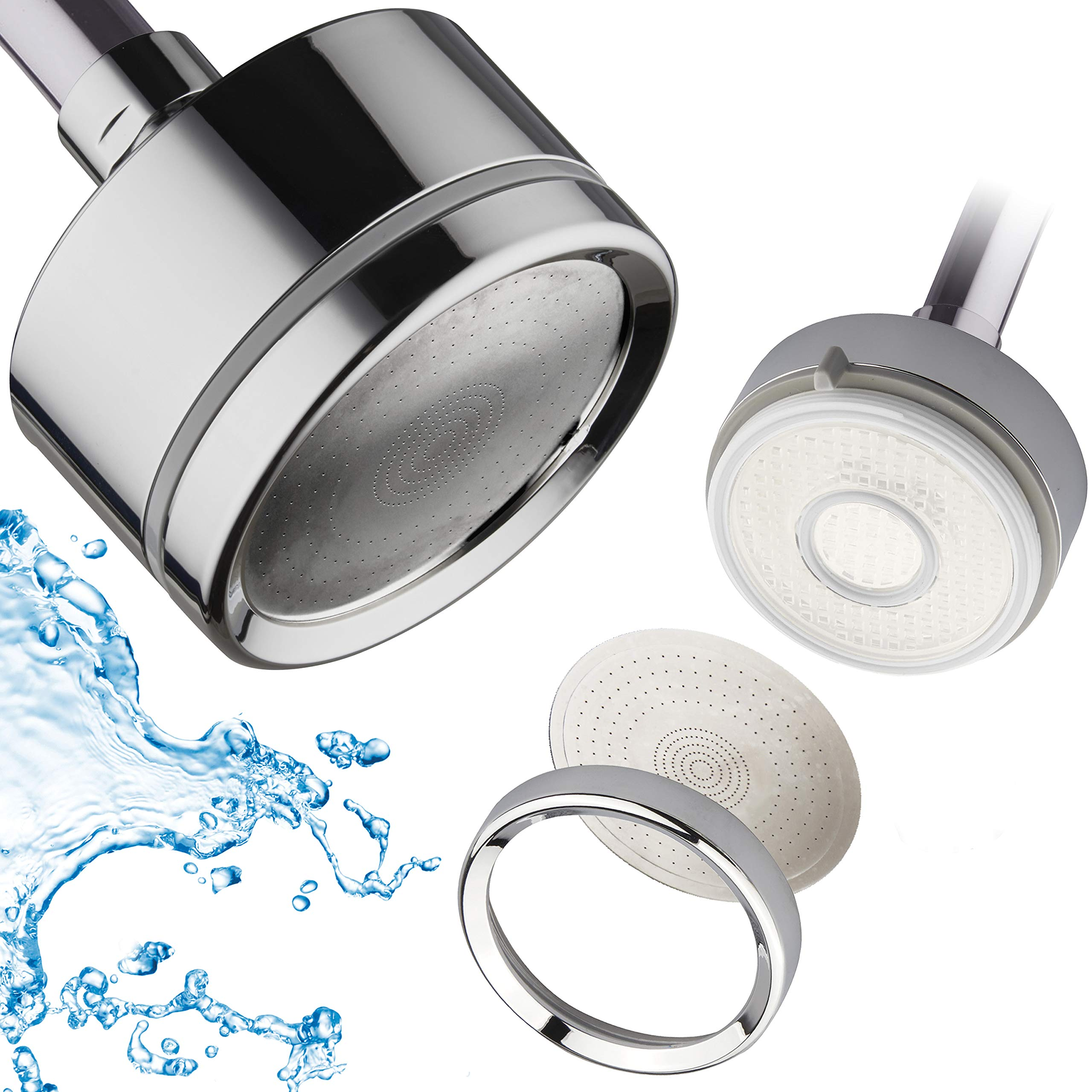 LaserJet Luxury Shower Water Filter