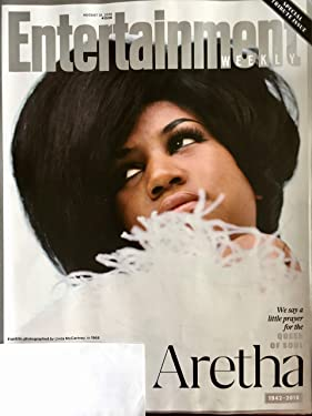 Entertainment Weekly Magazine (August 31, 2018) Aretha Franklin Queen of Soul Tribute Issue