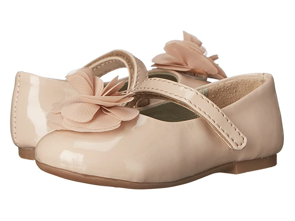 Pazitos Silk Rose MJ PU (Toddler/Little Kid) (Au Natural) Girls Shoes