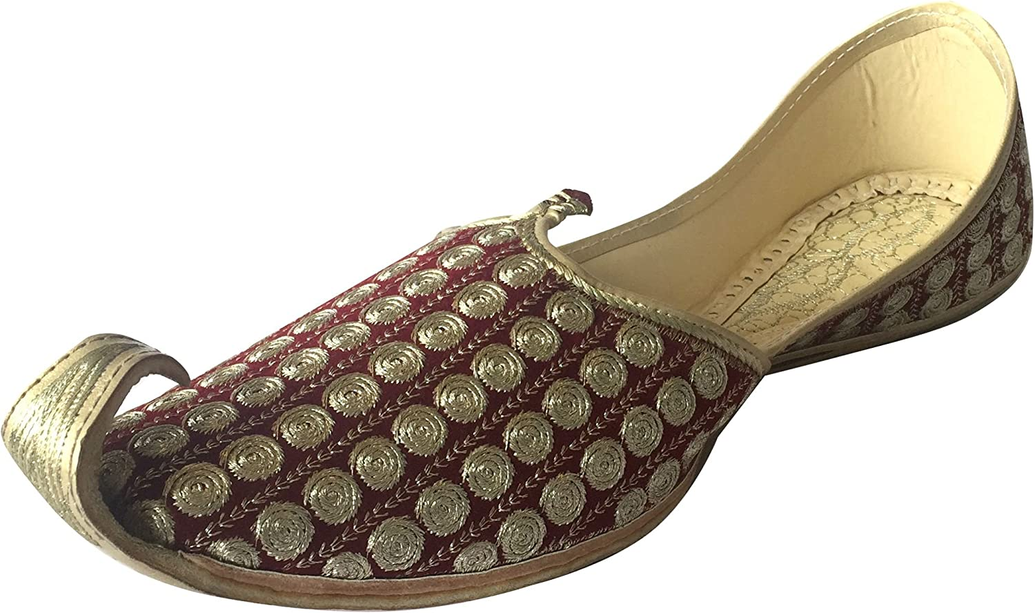 Step n Style Men's Khussa shoes Punjabi Jutti Rajasthani Mojari Kolhapuri Jaipuri shoes