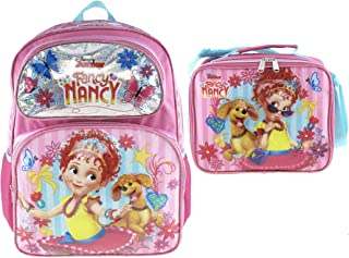 "Fancy Nancy""Pretty Butterfly"" 16"" Backpack and Matching Insulated Lunch Bag"