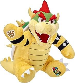 Build a Bear Bowser King Koopa Super Mario Bros. 15in. Stuffed Plush Toy