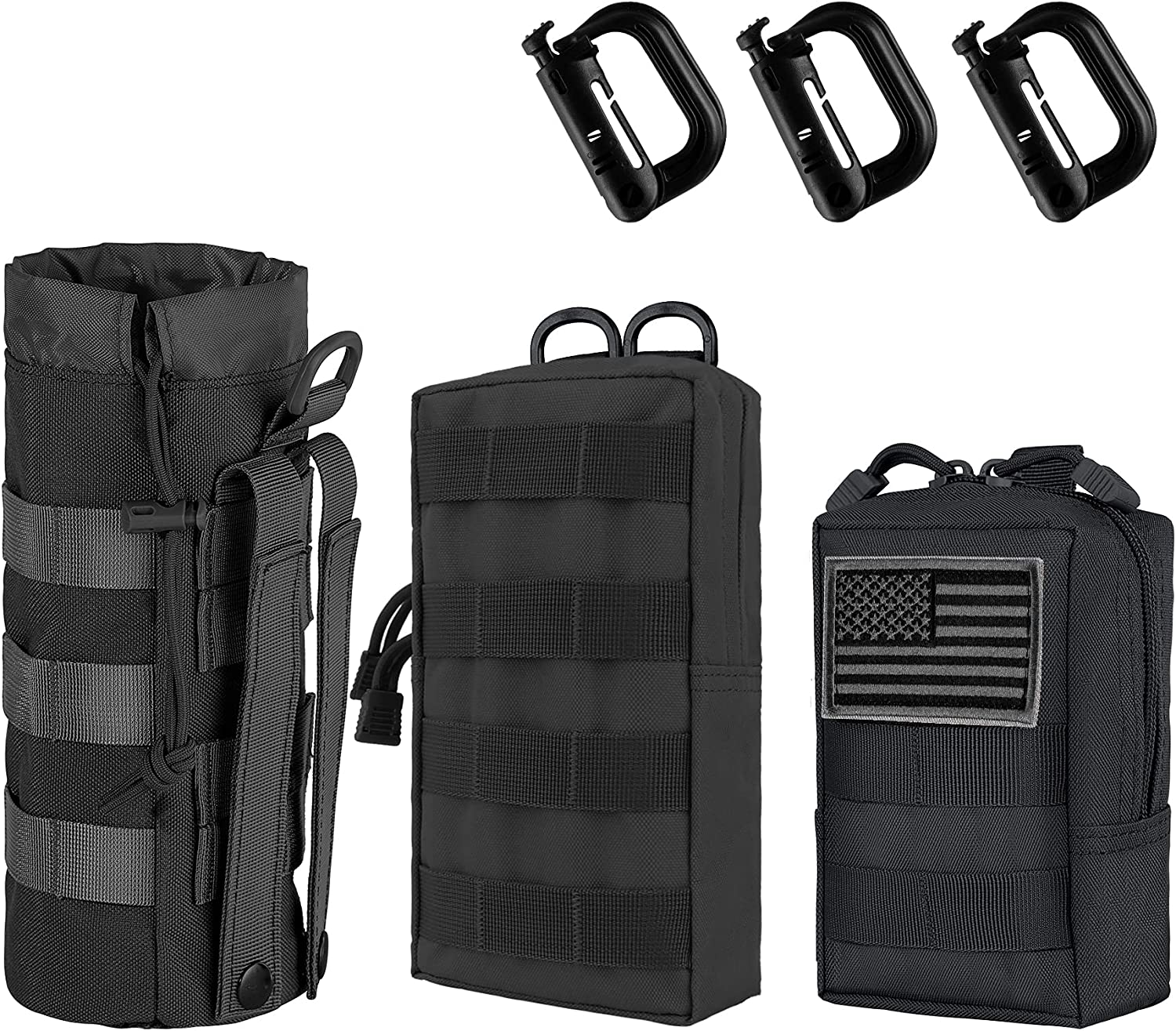 IronSeals Tactical Molle Pouch Compact Water- Inventory cleanup selling sale Multi-Purpose Pack 2021