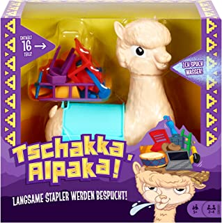 Mattel Games Mattel Games GMV81 - Tschakka Alpaka lustiges Kinderspiel und Partyspiel ab 5 Jahren, Partyspiele für 2-4 Spieler, deutschsprachig