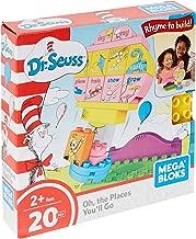 Mega Bloks Dr. Seuss Oh, The Places You'll Go Building Set (20 Piece), Multicolor