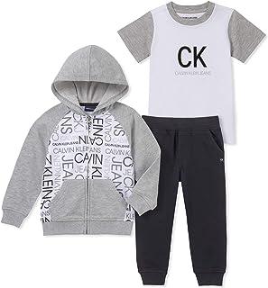 Calvin Klein Boys' Toddler 3 Pieces Jog Set