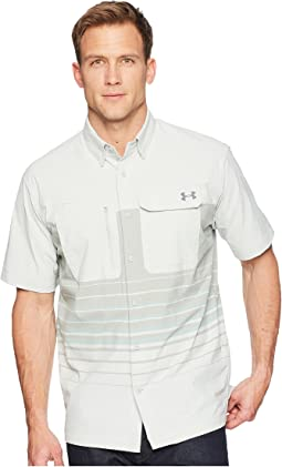 Under Armour - UA Fish Hunter Short Sleeve Plaid Shirt