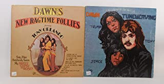 Tony Orlando & Dawn 2 Vinyl Record Albums Tuneweaving and Dawn's New Ragtime Follies