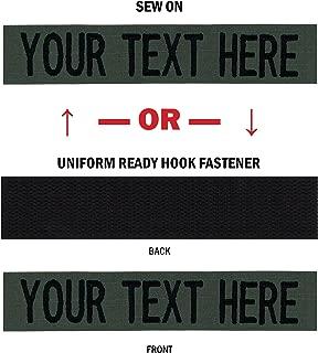 military name tags velcro