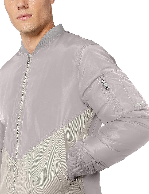 AX Armani Exchange Men's Zip Up Jacket with Side Pockets