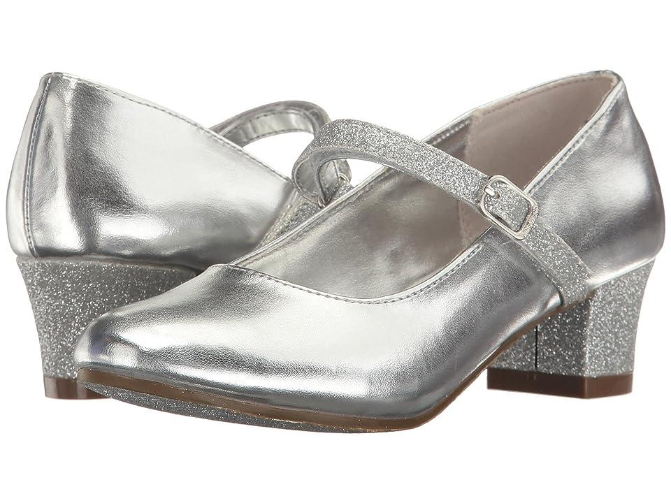 2bd63f48680 Nine West Kids Patrece (Little Kid Big Kid) (Silver Metallic) Girl s Shoes