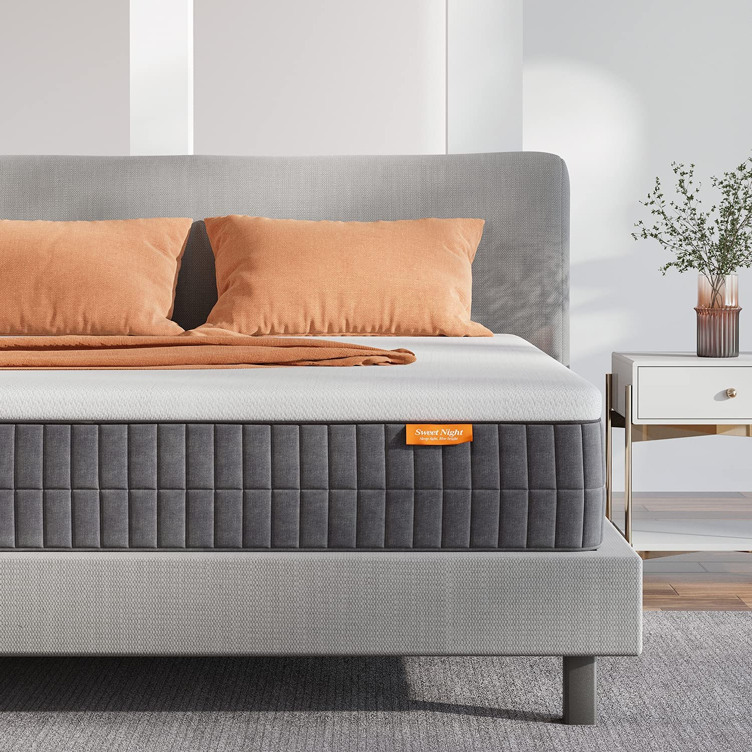 Queen Mattress Sweetnight 12 Inch All stores are sold Size P Box low-pricing in