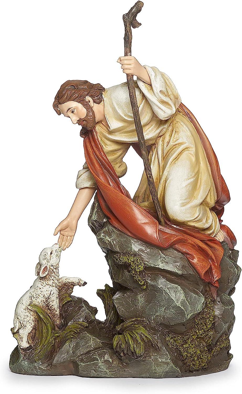 Joseph's Studio by Roman - gift Jesus Renaissance C Virginia Beach Mall Figure with Lamb