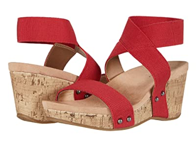 LifeStride Del Mar (Fire Red) Women