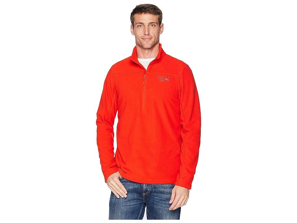 Mountain Hardwear Microchill 2.0 Zip T (Fiery Red) Men