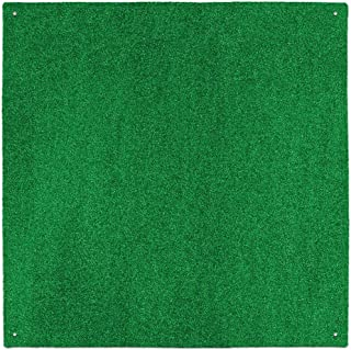 House, Home and More Outdoor Turf Rug - Green - 12 Feet X 30 Feet