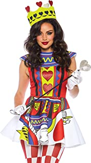 Leg Avenue King & Queen of Hearts Card Couples Costume