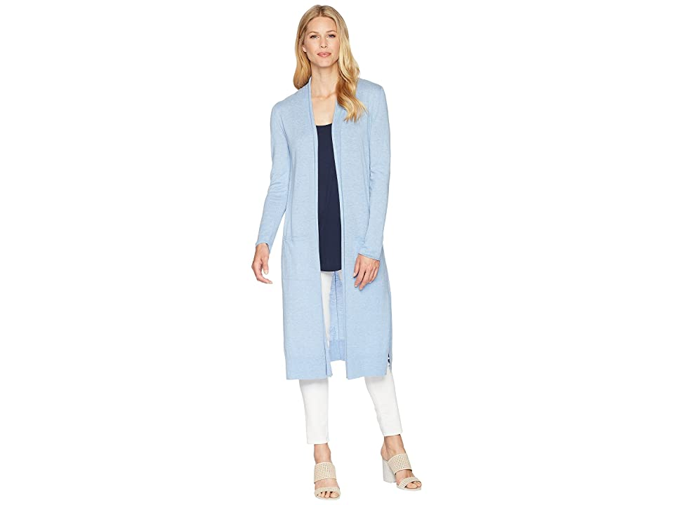 NIC+ZOE Traveler Duster Cardy (Indigo Wash) Women