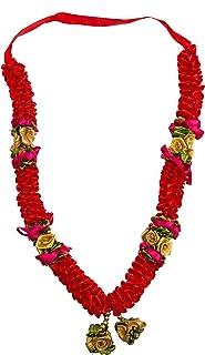 Shubhkart Indian Garland (Red)