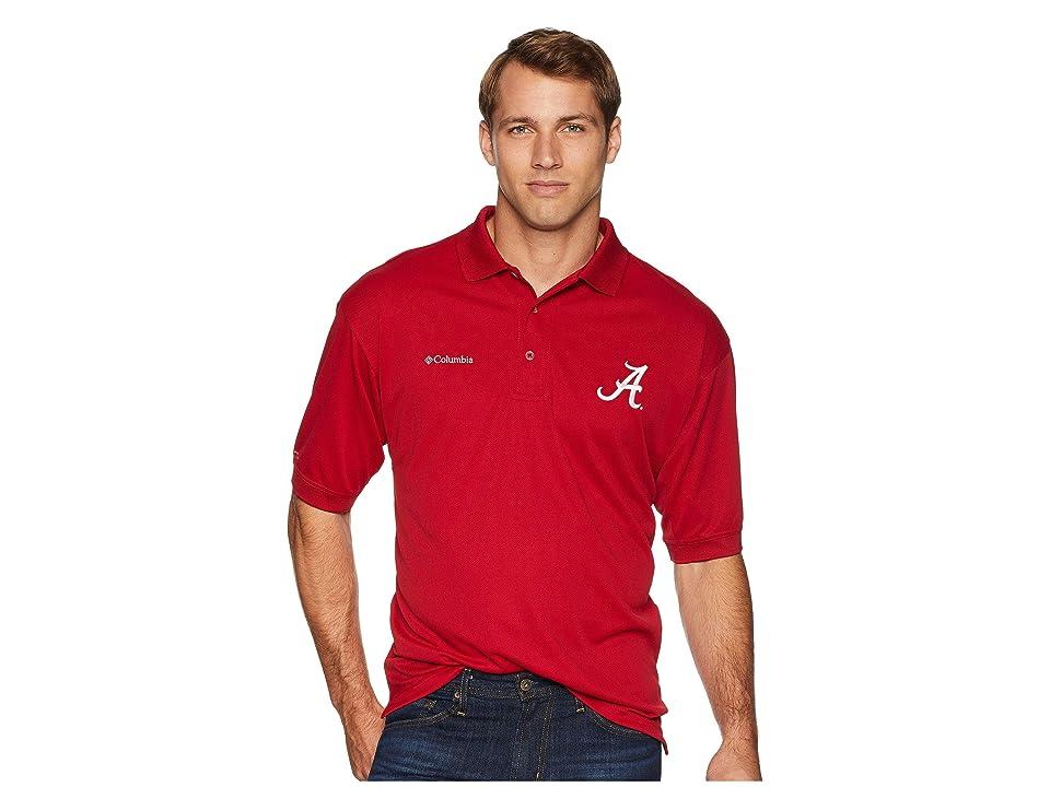 Columbia Collegiate Perfect Casttm Polo Top (Alabama/Red Velvet) Men