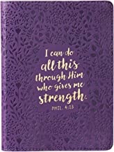I Can Do All This Handy-sized LuxLeather Journal - Philippians 4:13