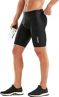 2XU Mens Short MT5532b-P, Mens, Short, MT5532b, Black/Black