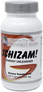 Grandma's Herbs Schizam! - Natural Herbal Supplement - Energy Support, Aids in Increasing Metabolism/Curbs ...