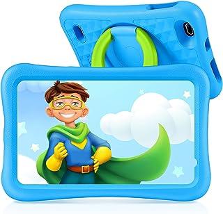 Vankyo Tablet para Niños con Cámaras de 5MP y 2MP, Tablet Infantil con ROM de 32GB, Tablet Niños con WiFi Processore Quad-Core, Android 9.0, RAM de 2GB (Azul)