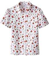 Dolce & Gabbana Kids - Back to School Floral Print Shirt (Big Kids)