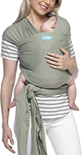 Moby Classic Baby Wrap (Pear) - Baby Wearing Wrap for Parents On The Go-Baby Wrap Carrier for Newborns, Infants, and Toddlers - Baby Carrying Wrap Ideal for Baby Wearing & Breastfeeding