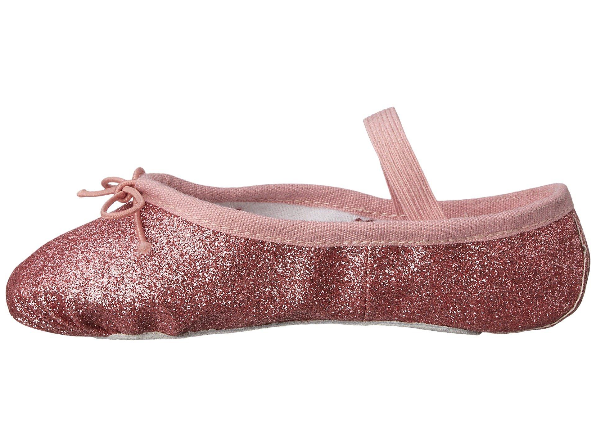 bloch kids glitter dust ballet slipper (toddler/little kid)