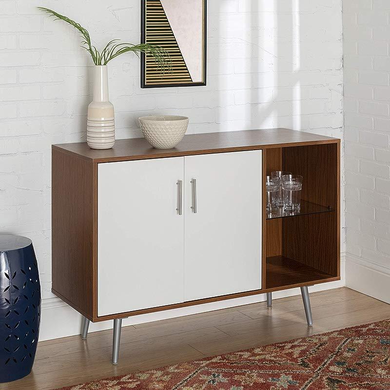 WE Furniture AZU44MCAPC TV Stand 44 Acorn