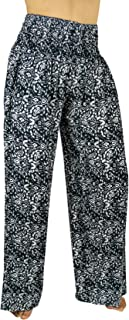 PIYOGA Women's Boutique Lounge and Yoga Pants, Elastic Waistband and Flare Bottom (One Size fits US W Size 0-12)