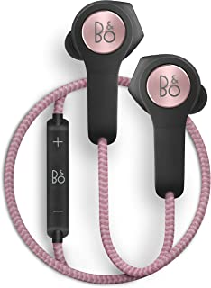 Bang & Olufsen Beoplay H5 Wireless In-Ear Headphones, Splash and Dust Resistant Headphones with Built-In Microphone and Re...