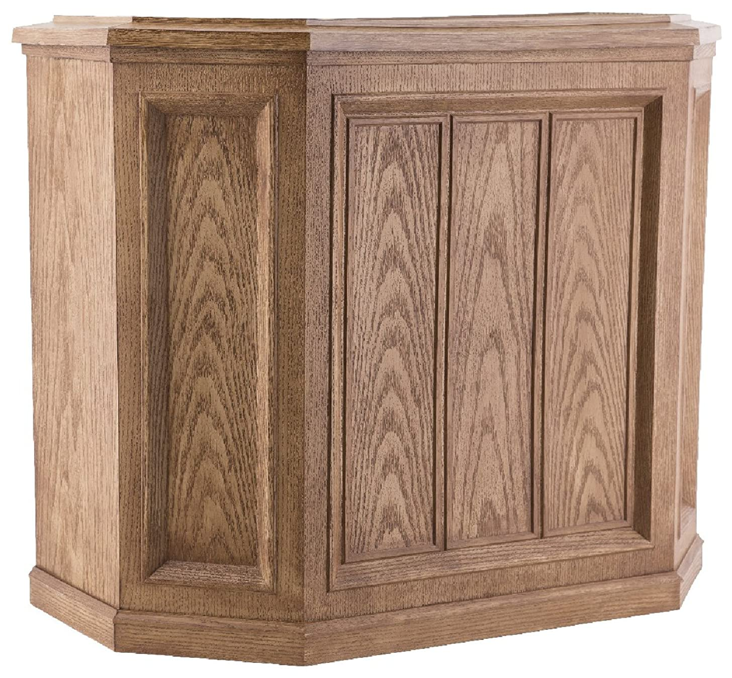 AIRCARE 696 400HB Whole House Credenza Evaporative Humidifier for 3600 sq. ft, Light Oak
